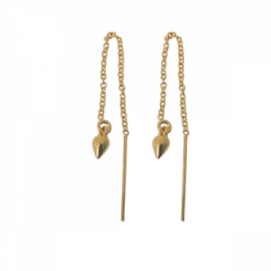 """Cleometra"" Spike - Earring - Gold"