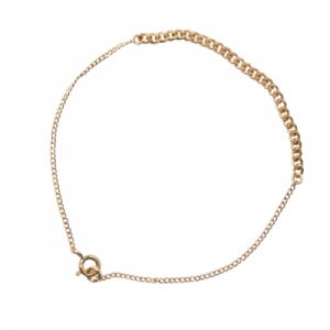 """Curb"" Long - Bracelet - Gold"