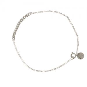 """Curb"" Short - Bracelet - Silver"