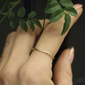"""Curvaceous"" Classic Fine - Ring - 18 Karat Gold"