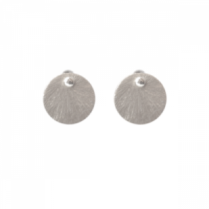 """Spot Classic"" Beam Medium - Stud Earring - Silver"
