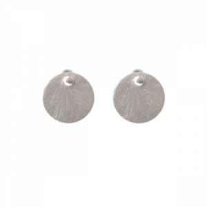 """""""Spot Classic"""" Beam Medium - Stud Earring - Silver"""