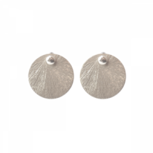 """Spot Classic"" Beam Large - Stud Earring - Silver"