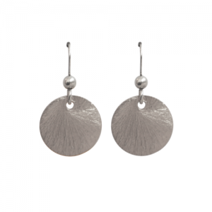 """Spot Classic"" Beam Large - Earring - Silver"