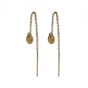 """Spot Classic"" Beam Small - Earringchain - Gold"
