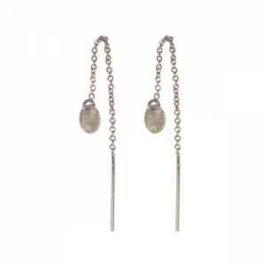 """Spot Classic"" Beam Small - Earringchain - Silver"