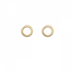 """Spot Classic"" Cosmos Saturn - Stud Earring - Gold"