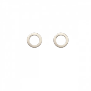 """Spot Classic"" Cosmos Saturn - Stud Earring - Silver"