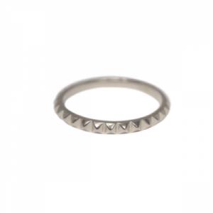 """Cleometra"" Pyramid Rivets - Ring - Silver"