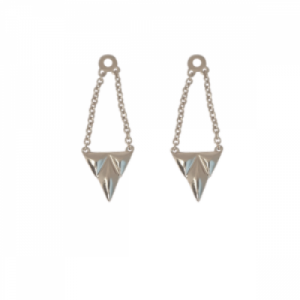 """""""Opalia"""" Shield - Earring Accessoires - Silver"""