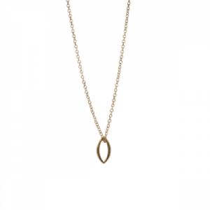 """Cleometra"" Marquise - Necklace - Gold"