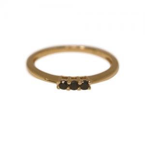 """""""Panthera"""" Black Onyx - Ring - 18 Karat Gold"""