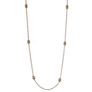 """Sophie"" Ellipse Pea - Collier - Gold"