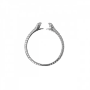 """Cleometra"" Snake - Ring - Silver"