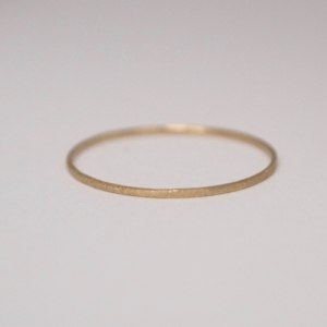"""Stripes & Joist"" Classic Tiny - Ring - 18 Karat Gold"