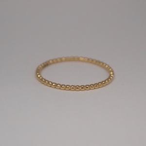 """Un-Deux-Trois"" Ball - Ring - 18 Karat Gold"