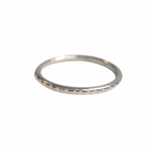 """Panthera"" Notch - Ring - Silver"