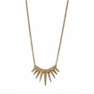"""Cleometra"" Sun - Necklace - Gold"