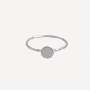 """Spot Classic"" Mat - Ring - Silver"