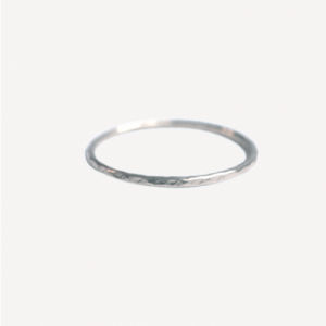 """Rocks"" Classic - Ring - Silver"