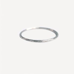 """Rocks"" Classic - Ring - Silver"