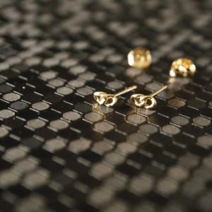 """""""Curb"""" Classic - Stud Earring - Gold"""