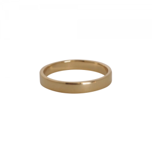 """Stripes & Joist"" Bar - Ring - Gold"