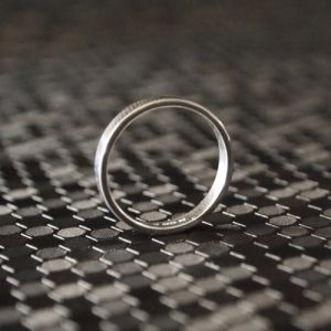 """Stripes & Joist"" Bar - Ring - Silver"