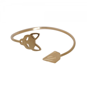 """Cityfox"" Classic - Bangle - Gold"