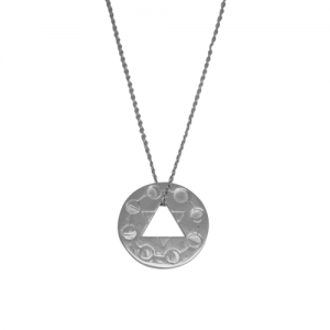"""Moon"" Cycle - Necklace - Silver"