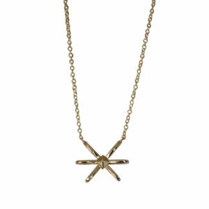 """Cleometra"" Neutron - Necklace - Gold"