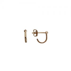 """Cleometra"" Neutron 1/6 - Stud Earring - Gold"