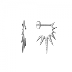 """Cleometra"" Sun - Stud Earring - Silver"