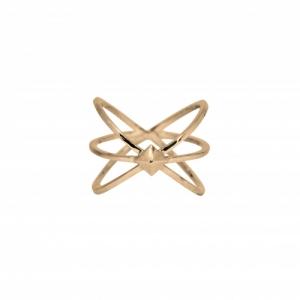 """Cleometra"" Neutron - Ring - Gold"
