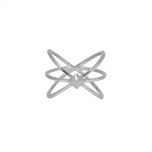 """""""Cleometra"""" Neutron - Ring - Silver"""