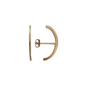 """Curvaceous"" Curva - Stud Earring - Gold"