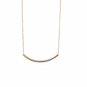 """Curvaceous"" Curva Big - Necklace - Gold"
