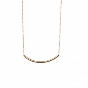 """""""Curvaceous"""" Curva Big - Necklace - Gold"""