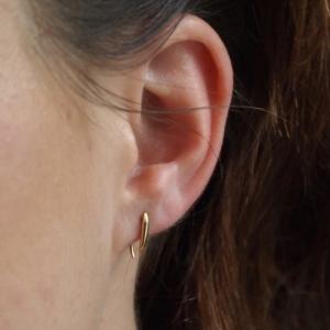 """""""Smilodon"""" Thorn Short - Earring - Gold"""