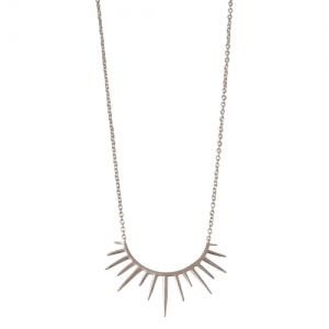 """Smilodon"" Rim - Necklace - Silver"