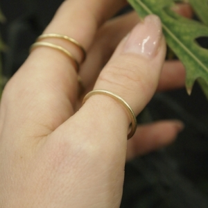 """Stripes & Joist"" Classic - Ring - 18 Karat Gold"