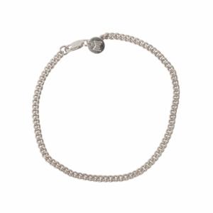 """Curb"" Classic - Bracelet - Silver"