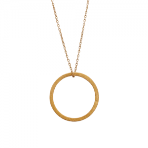 """Spot Classic"" Beam Saturn - Necklace - Gold"