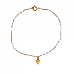 """Trinity"" 1Arrow - Bracelet - Gold"