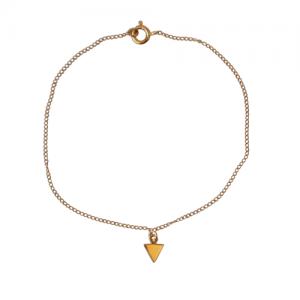 """""""Trinity"""" 1Arrow - Bracelet - Gold"""