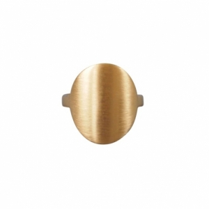 """Paillette"" Coin - Ring - Gold"