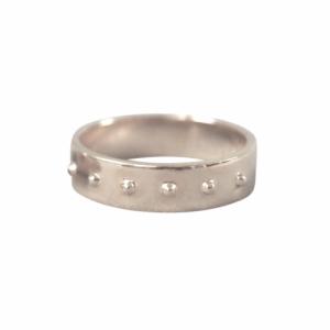 """""""Un-Deux-Trois"""" Classic Wide - Ring - Silver"""