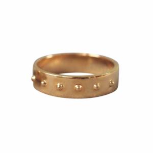 """""""Un-Deux-Trois"""" Classic Wide - Ring - Gold"""