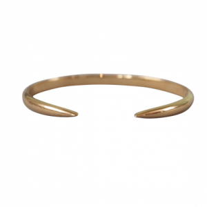 """Smilodon"" Thorn - Bangle - Gold"