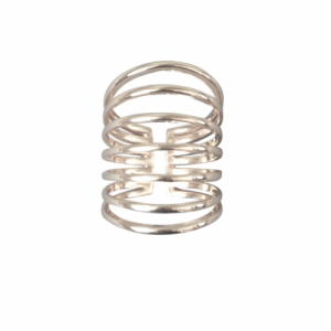 """Curvaceous"" Classic 7 - Ring - Silver"